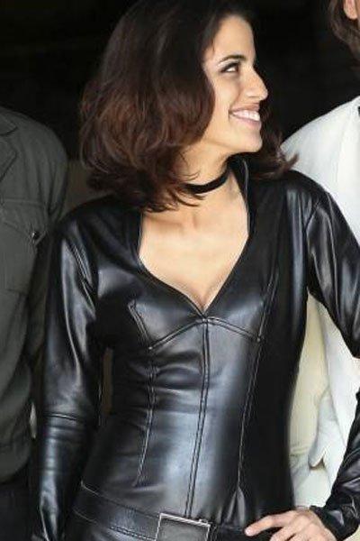 Natalie Morales out of her Middleman uniform.