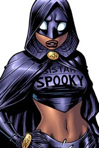 Emp's occult hardbody nemisis and SuperHomey teammate Sistah Spooky.