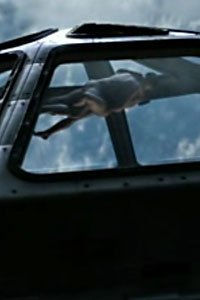 Two nude astronauts putting zero gravity to good use in the Defying Gravity pilot.